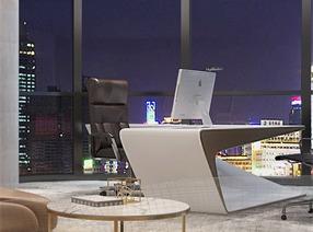 广东广州------明快的办公环境