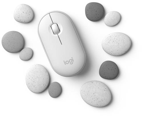 轻灵石巧 赋能无线 罗技PEBBLE™鹅卵石无线鼠标心动亮相