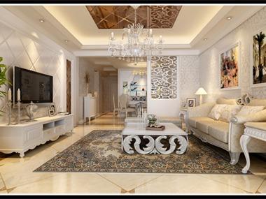 简约欧式的设计风格其实是经过改良的古典欧式主义风格