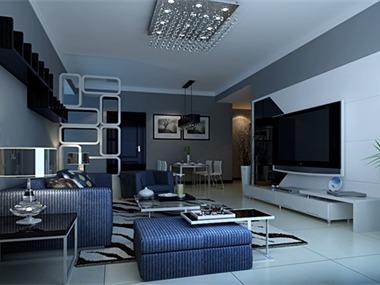 小空间,运用现代感线条做出品味生活,时尚现代感,给