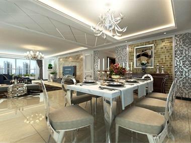 欧式的居室有的不只是豪华大气,更多的是意境和浪漫。