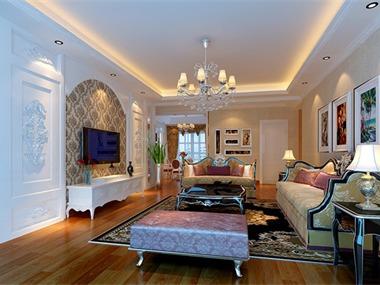简欧风格继承了传统欧式风格的装饰特点,吸取了其风格