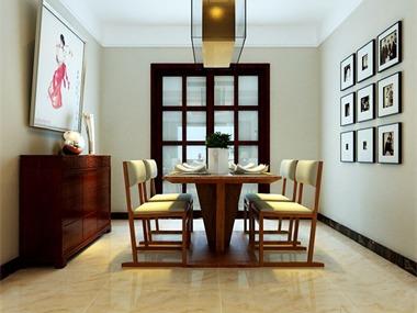 此案例设计是按照中式设计,把中式古典美与现代的时尚
