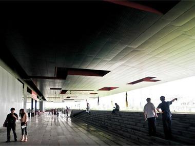 广东省博物馆新馆博物馆吊顶