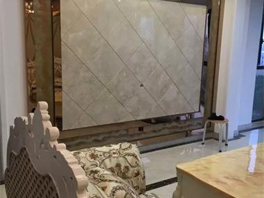 田园客厅电视背景墙效果图