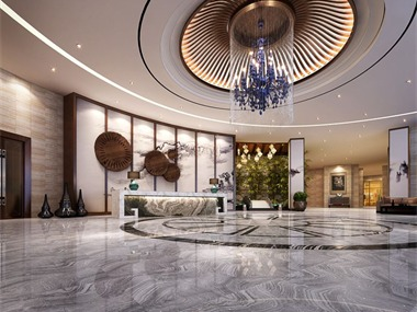 琅月酒店现代中式设计案例