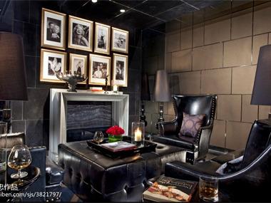 天津莱佛士酒店酒店空间壁炉