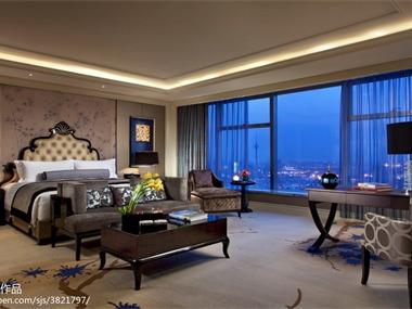 天津莱佛士酒店酒店空间飘窗
