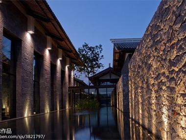丽江铂尔曼酒店酒店空间吊顶