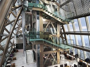 深圳瑞吉酒店酒店空间楼梯