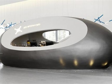埃克斯咖啡店设计咖啡厅