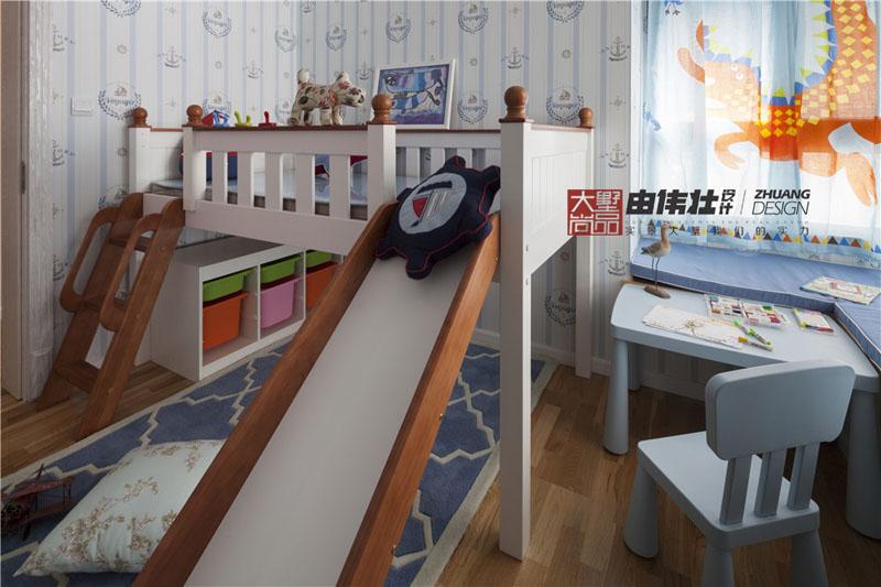 地中海风『海洋』儿童房背景墙