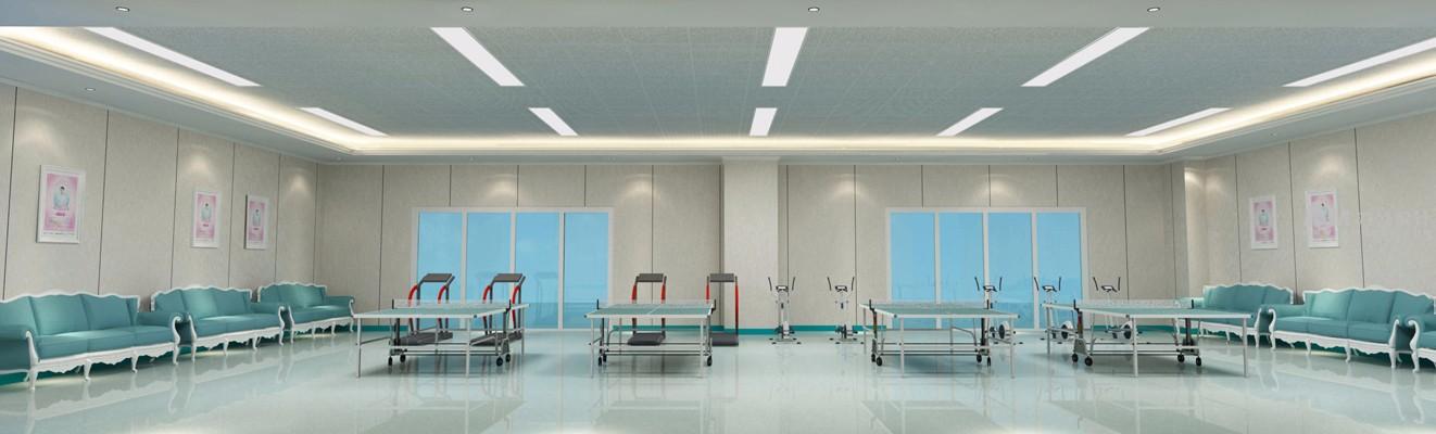 医院体育室效果图