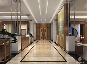 一心设计组|中式别墅设计 ·顺德东怡水岸别墅