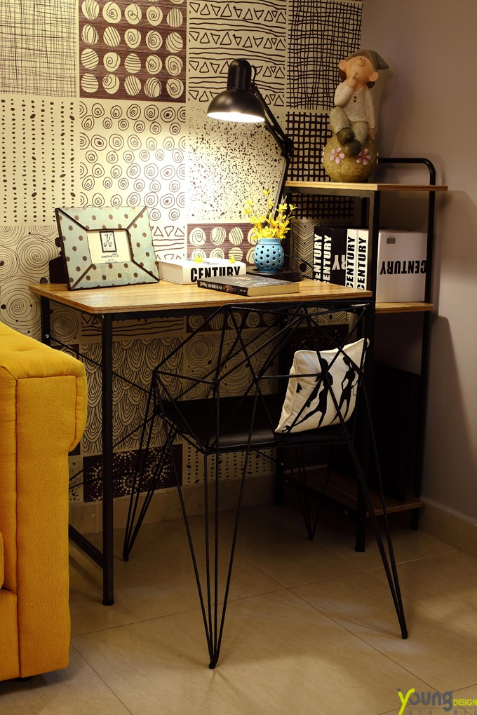 其它客厅工作区实景图