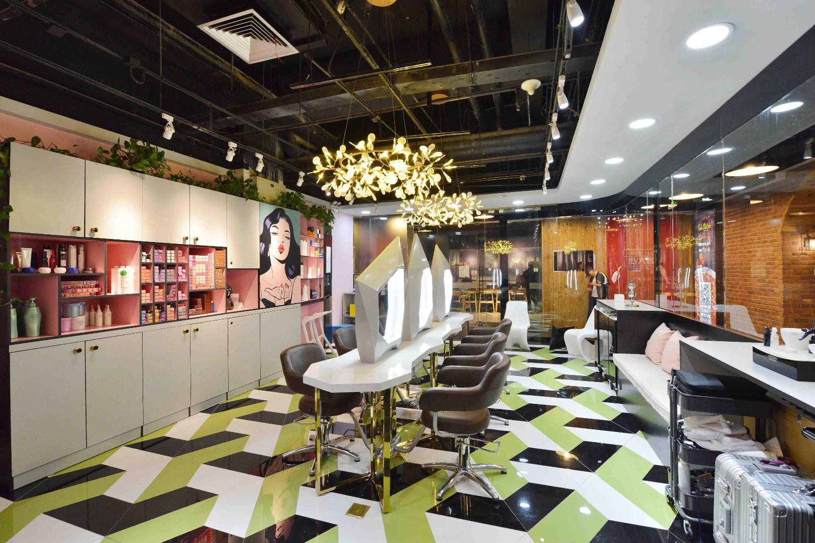 店铺化妆区实景图
