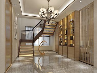 中式其它楼梯效果图