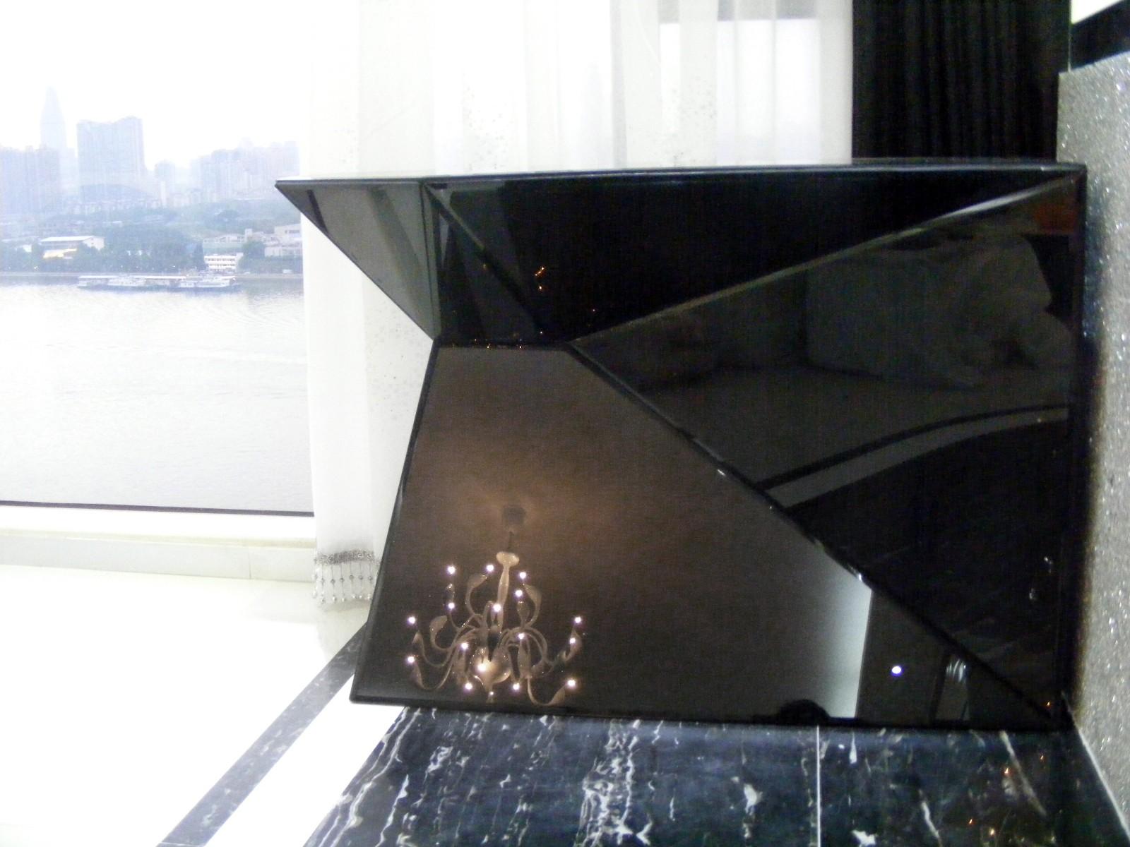 现代阳台吧台实景图