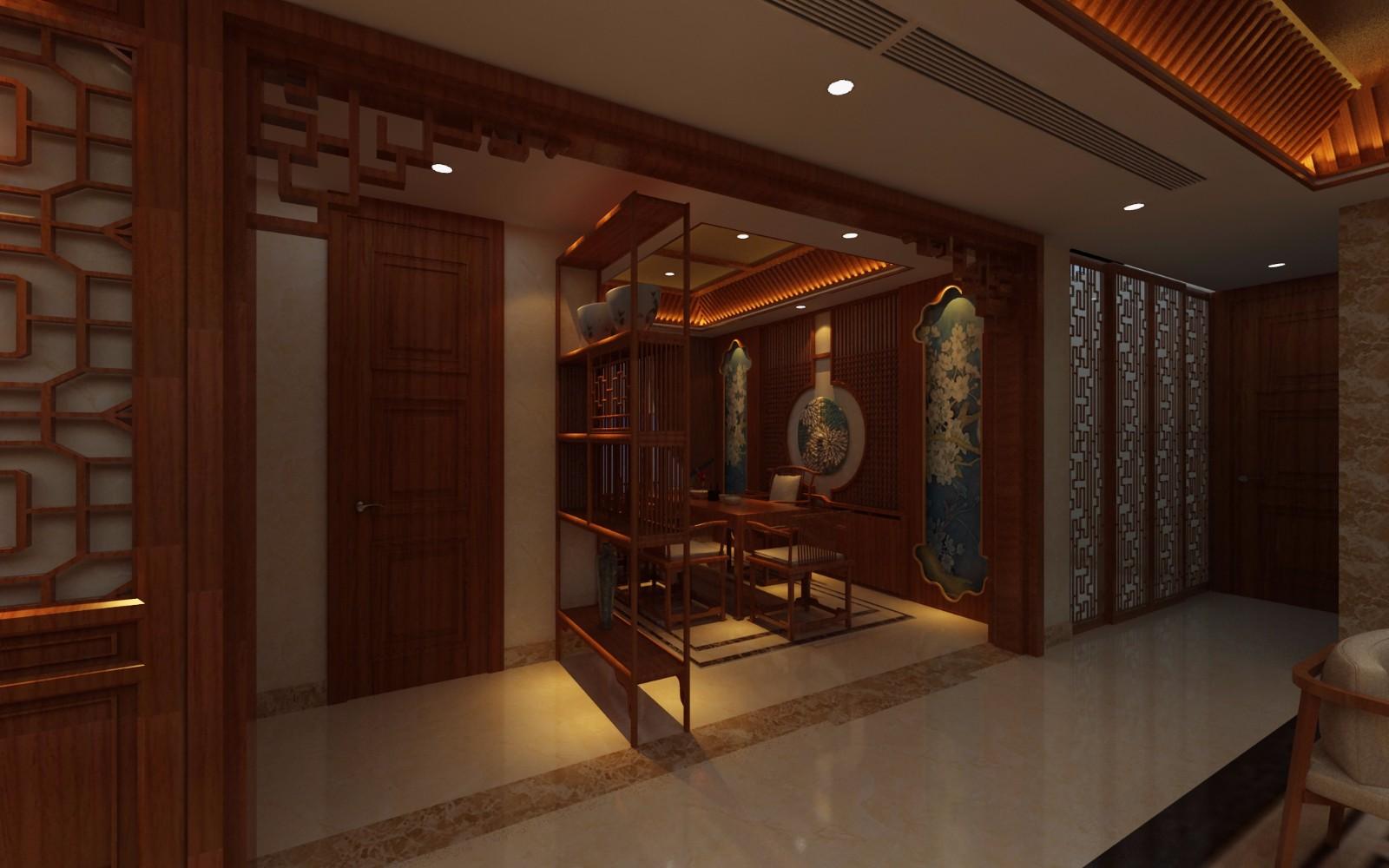 中式書房其它效果圖