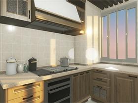 中式厨房其它效果图
