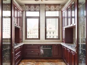 新古典厨房吊顶实景图