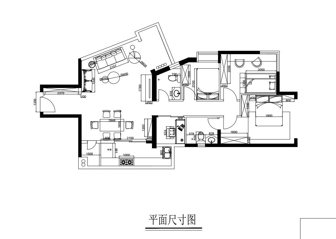 廣州濱江路麗景苑平面圖