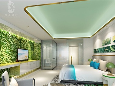 成都专业酒店设计 营山县花涧主题酒店