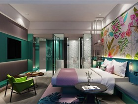 成都精品酒店设计—红专设计|昆明轻居精品酒店