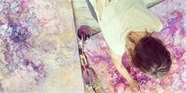 一生在画布上飞翔的理想主义女孩