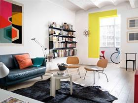 巴塞罗那一套风格明快简约的公寓 The furnished Void
