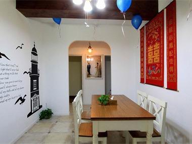 地中海风格婚房餐厅
