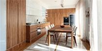 木质公寓设计 透露着令人舒适的自然气息