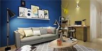 留一面墙给色彩!家装彩色墙面设计方案推荐