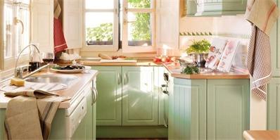 4个小厨房装修实用技巧 让小户型空间不再狭小