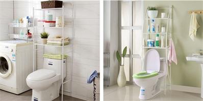 利用马桶上方位置增加浴室收纳空间 哪怕只有1㎡也不放过