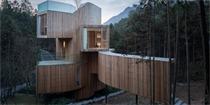 安徽齐云山树屋酒店设计 八方景观一览无余的林间酒店