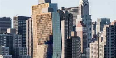 """曼哈顿新落成的两座高档住宅,听说不仅会变色还会""""跳舞"""""""