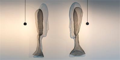 人形钢丝网灯具 展现光影的丰富表情