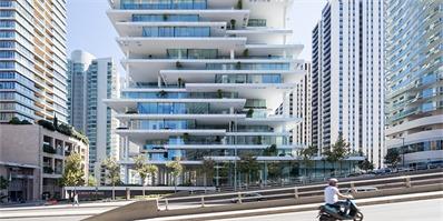 赫尔佐格与德梅隆在黎巴嫩贝鲁特设计的首个住宅项目落架完工!
