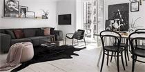 公寓色彩搭配 黑与粉的搭配,优雅而灵动
