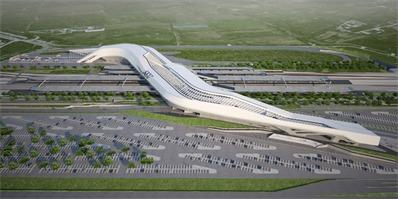 扎哈之作 意大利南部那不勒斯阿夫拉戈拉火车站一期工程已竣工!