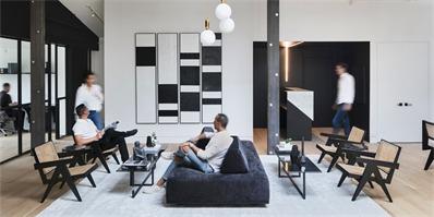 纽约布鲁克林创意办公室,前银行家打造的格调空间