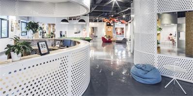 福州万创公社泊寓公共空间设计,灵活穿梭的自由空间