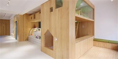 厦门LAPUTAN亲子餐厅,打造一个充满趣味的儿童空间