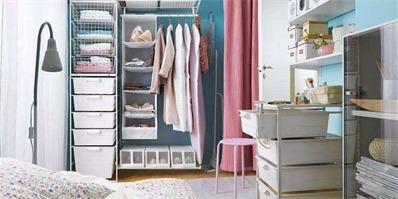 学会衣物收纳技巧 告别总是乱成堆的衣柜