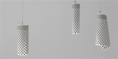 nendo推出卷纸灯 纸张一秒变灯饰
