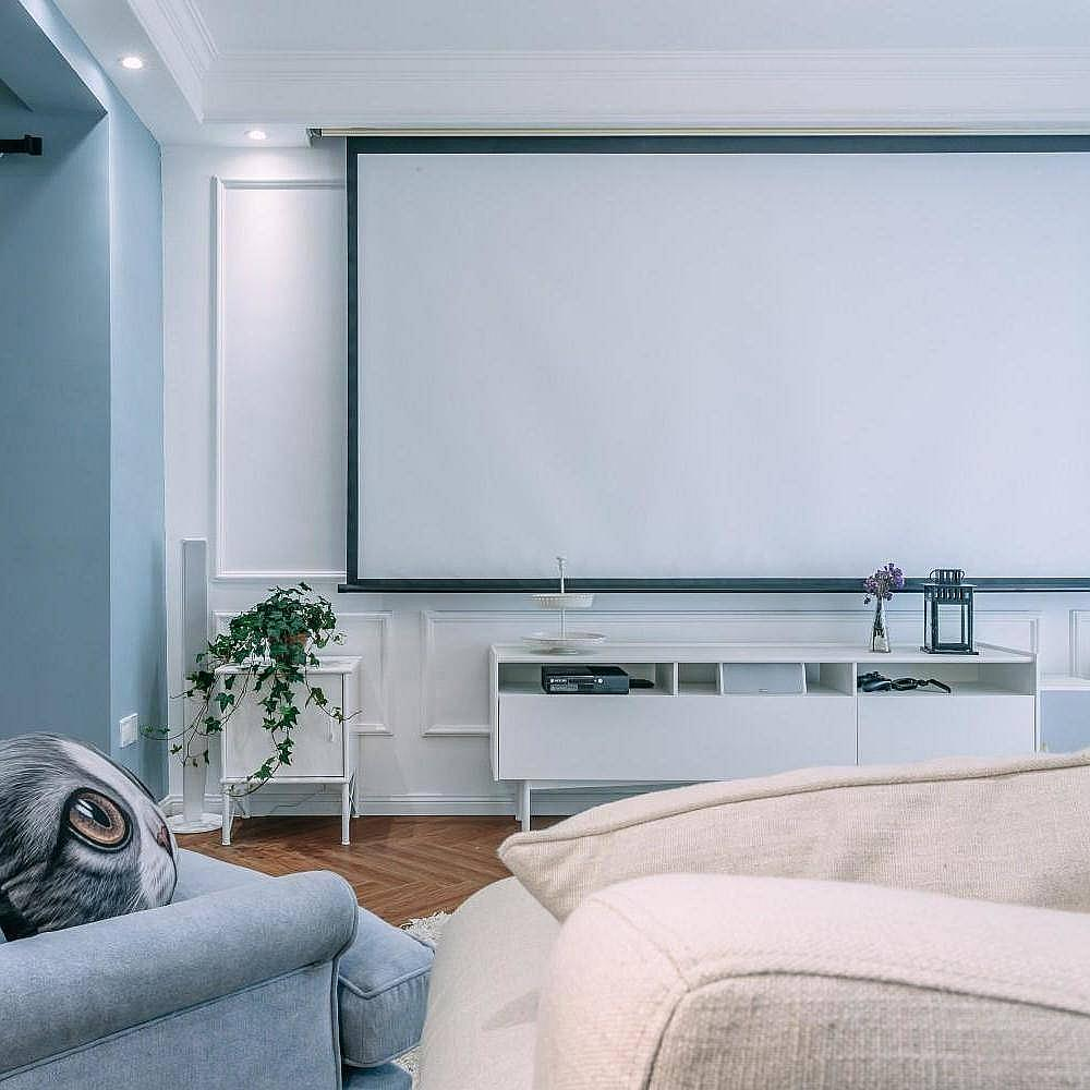 地中海客厅电视背景墙效果图