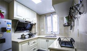 北欧厨房橱柜实景图