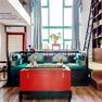 中式客厅飘窗实景图