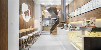 武汉味兮餐厅 打造简洁明亮的就餐空间